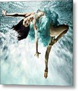 Underwater Ballet Metal Print