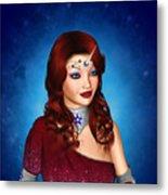 Unicorn Princess Adoria Metal Print