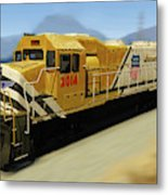 Union Pacific 2014 At Work Metal Print