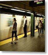 Union Square Station No.1 Metal Print