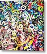 Universe Galaxy Metal Print