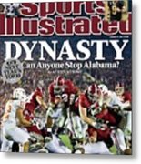 University Of Alabama Mark Ingram, 2010 Citi Bcs National Sports Illustrated Cover Metal Print