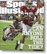 University Of Alabama Vs Virginia Tech, 2013 Chick-fil-a Sports Illustrated Cover Metal Print