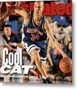 University Of Arizona Miles Simon, 1997 Ncaa National Sports Illustrated Cover Metal Print