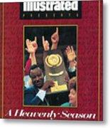 University Of Arkansas Coach Nolan Richardson, 1994 Ncaa Sports Illustrated Cover Metal Print