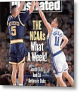 University Of California Jason Kidd, 1993 Ncaa Midwest Sports Illustrated Cover Metal Print