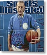 University Of California Los Angeles Coach John Wooden Sports Illustrated Cover Metal Print