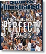 University Of Connecticut, 2009 Ncaa National Womens Sports Illustrated Cover Metal Print