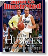 University Of Connecticut Diana Taurasi, 2003 Ncaa Womens Sports Illustrated Cover Metal Print