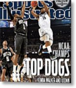 University Of Connecticut Vs Butler University, 2011 Ncaa Sports Illustrated Cover Metal Print