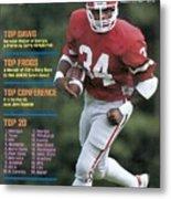 University Of Georgia Herschel Walker Sports Illustrated Cover Metal Print