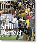 University Of Iowa Derrell Johnson-koulianos Sports Illustrated Cover Metal Print