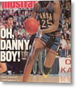 University Of Kansas Danny Manning, 1988 Ncaa National Sports Illustrated Cover Metal Print