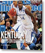 University Of Kentucky Michael Kidd-gilchrist, 2012 Ncaa Sports Illustrated Cover Metal Print