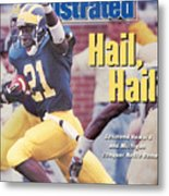 University Of Michigan Desmond Howard Sports Illustrated Cover Metal Print