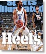 University Of North Carolina, 2017 Ncaa National Champions Sports Illustrated Cover Metal Print