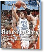 University Of North Carolina Sean May, 2005 Ncaa National Sports Illustrated Cover Metal Print