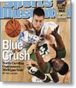 University Of North Carolina Tyler Hansbrough, 2009 Ncaa Sports Illustrated Cover Metal Print
