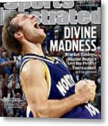 University Of Northern Iowa Ali Farokhmanesh, 2010 Ncaa Sports Illustrated Cover Metal Print