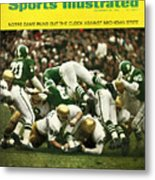 University Of Notre Dame Football Sports Illustrated Cover Metal Print