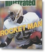 University Of Notre Dame Rocket Ismail Sports Illustrated Cover Metal Print