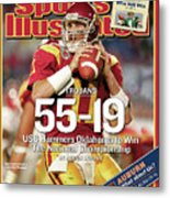 University Of Southern California 2004 Bcs National Sports Illustrated Cover Metal Print