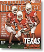 University Of Texas, 2010 College Football Preview Issue Sports Illustrated Cover Metal Print