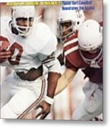 University Of Texas Earl Campbell Sports Illustrated Cover Metal Print