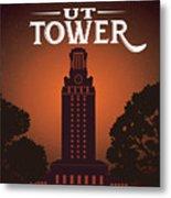University Of Texas Tower Metal Print
