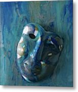 Shades Of Blue Sold Metal Print