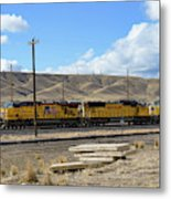 Up 5400 Passing Through Metal Print