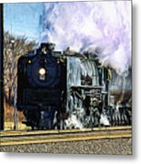 Up 844 Movin' On - Artistic Metal Print
