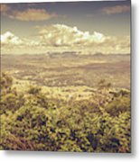 Up Above The Land Down Under Metal Print