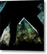 Urban Grunge Collection Set - 02 Metal Print