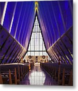 U.s. Air Force Academy, Cadets Chapel Metal Print
