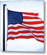 U.s. Flag 5 Metal Print