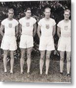 U.s. Olympic Decathlon Team Metal Print