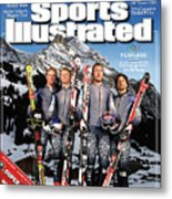 Usa Alpine Ski Team, 2006 Turin Olympic Games Preview Sports Illustrated Cover Metal Print