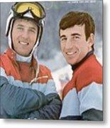 Usa Billy Kidd And Jim Huega, Olympic Skiing Sports Illustrated Cover Metal Print