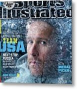 Usa Bode Miller, 2014 Sochi Olympic Games Preview Issue Sports Illustrated Cover Metal Print