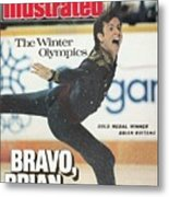 Usa Brian Boitano, 1988 Winter Olympics Sports Illustrated Cover Metal Print