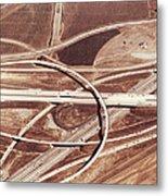 Usa, California, San Bernardino Metal Print