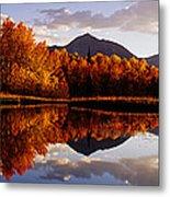 Usa, Colorado, Telluride, Sunrise Peak Metal Print