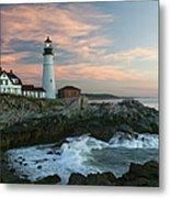 Usa, Maine, Cape Elizabeth, Portland Metal Print
