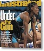 Usa Marion Jones, 2000 Summer Olympics Sports Illustrated Cover Metal Print