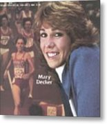 Usa Mary Decker, 1983 Sportswoman Of The Year Sports Illustrated Cover Metal Print