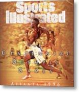 Usa Michael Johnson, 1996 Summer Olympics Sports Illustrated Cover Metal Print