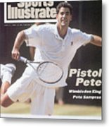 Usa Pete Sampras, 1994 Wimbledon Sports Illustrated Cover Metal Print