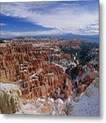 Usa, Utah, Winter Bryce Canyon Metal Print