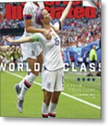 Usa Vs Netherlands, 2019 Fifa Womens World Cup Final Sports Illustrated Cover Metal Print